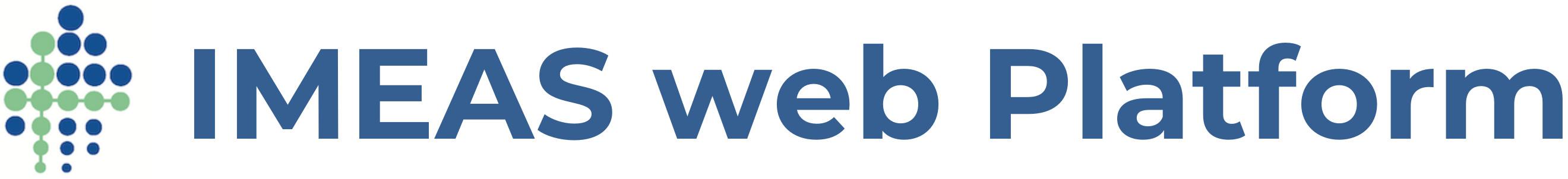 IMEAS web Platform